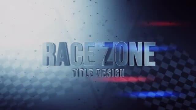 Race Zone Title Design: Motion Graphics Templates
