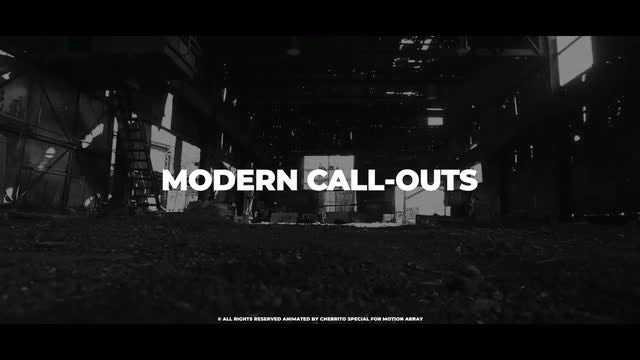 Modern Call-Outs: Premiere Pro Templates
