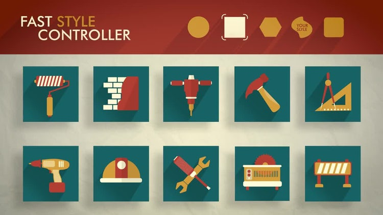 icons: After Effects Templates
