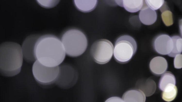 Close-up Shot Of Bokeh Lights: Stock Video