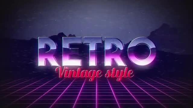 Retro Title: Motion Graphics Templates