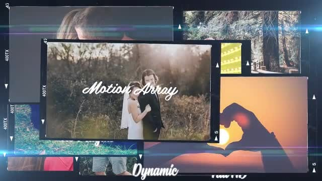 Memories Slideshow: Premiere Pro Templates