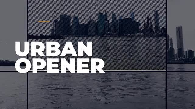 Quick Urban Opener: After Effects Templates