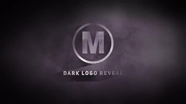 Dark Logo Reveal: After Effects Templates