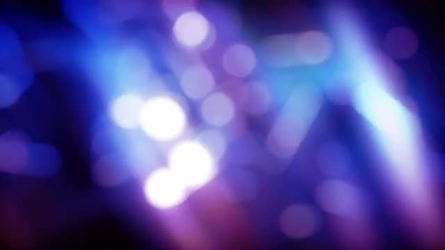 Rolling Bokeh Tube  Backdrop: Stock Motion Graphics