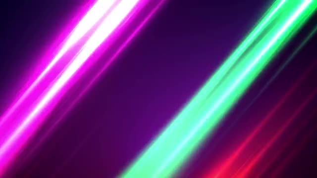 Neon Streaks: Stock Motion Graphics