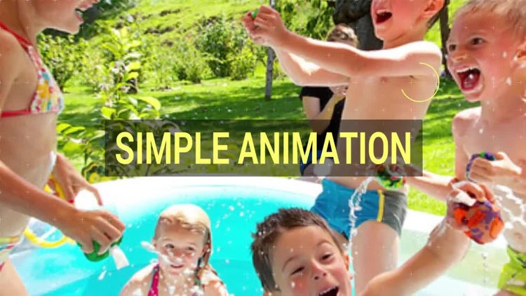 Summer Pop: After Effects Templates