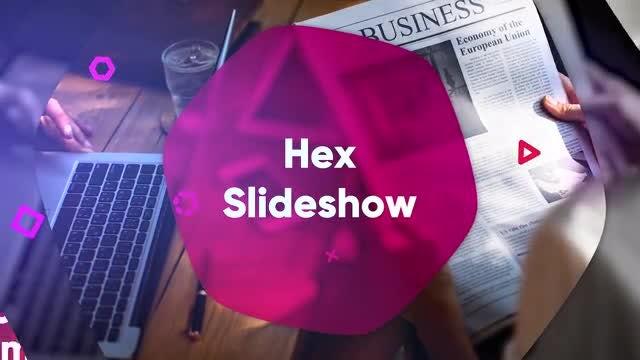 Hex Slideshow: Premiere Pro Templates