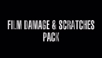 Film Damage & Scratches.  Pack. Loop.: Motion Graphics