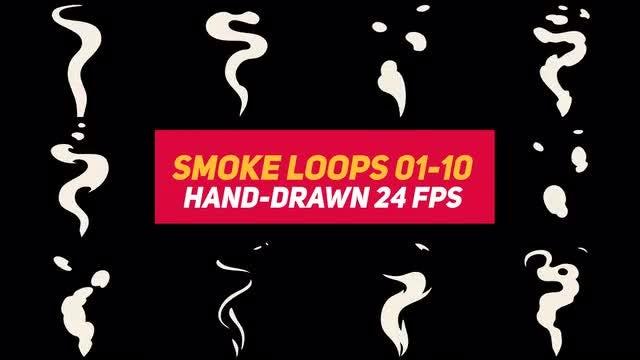 Liquid Elements Smoke Loops 01-10: Stock Motion Graphics