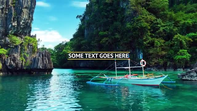 Travel Tours Commercial: Premiere Pro Templates