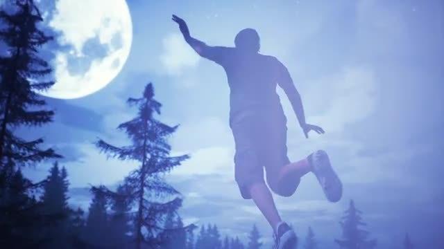 UFO captured man: Stock Motion Graphics