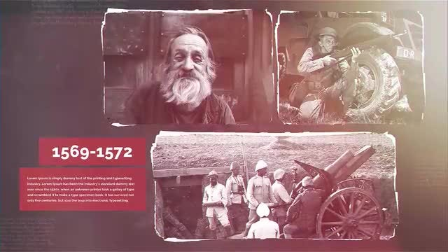 History 2: After Effects Templates