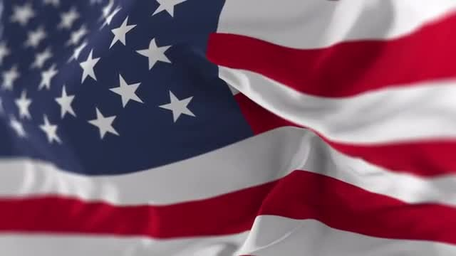 USA Flag Slow Motion: Stock Motion Graphics