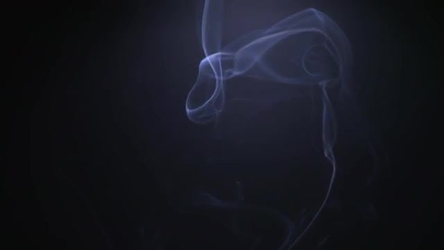 Smoke Moving In Slow Motion: Stock Video