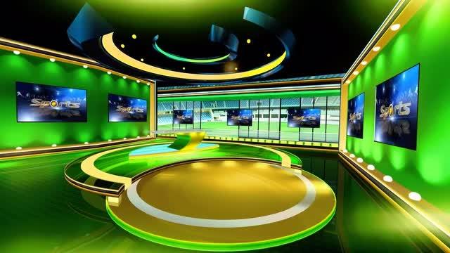 Sports Virtual Set 2: Stock Motion Graphics