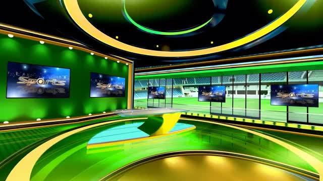 Virtual News Studio 3 - Stock Motion Graphics | Motion Array