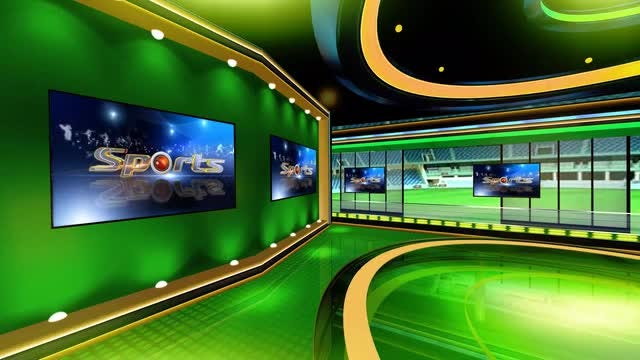 Sports Virtual Set 4: Stock Motion Graphics