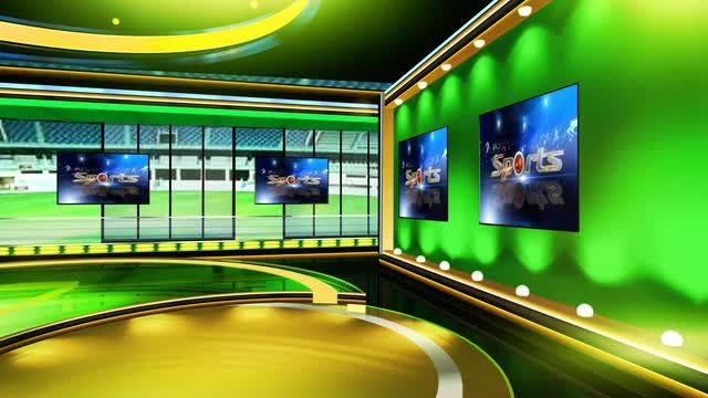 Sports Virtual Set 5: Stock Motion Graphics