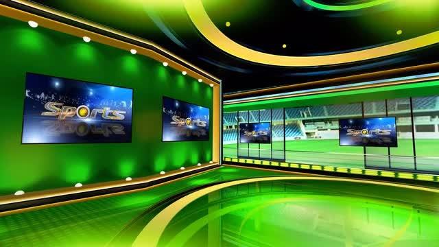 Sports Virtual Set 7: Stock Motion Graphics