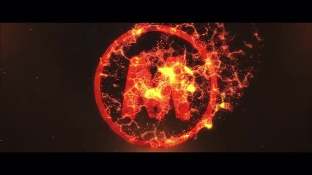 Flame logo: After Effects Templates