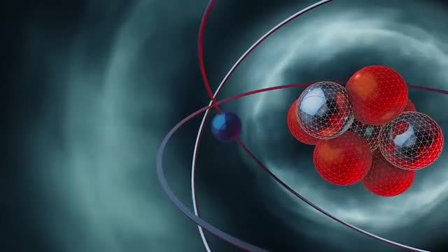 Atomic Structure Animated Backgrounds Pack: Stock Motion Graphics