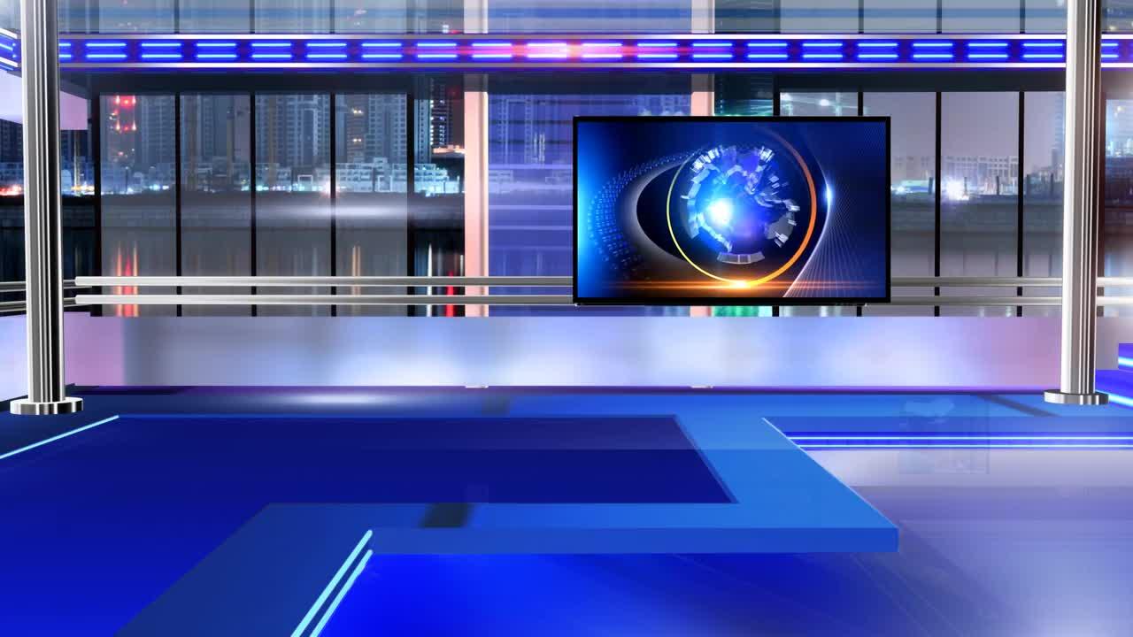 news room virtual set 8