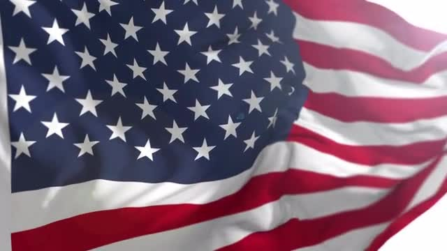 United States Flag USA: Stock Motion Graphics