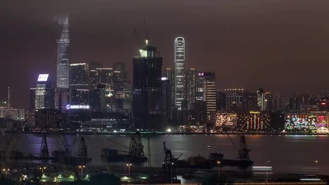 Time-Lapse of Hong Kong: Stock Video