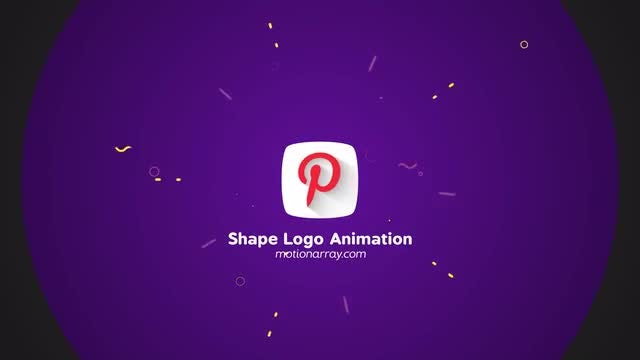 Shape Logo Animation: After Effects Templates