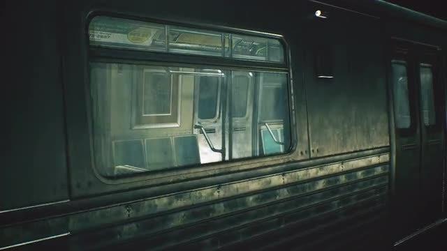 Endless Train Loop: Stock Motion Graphics