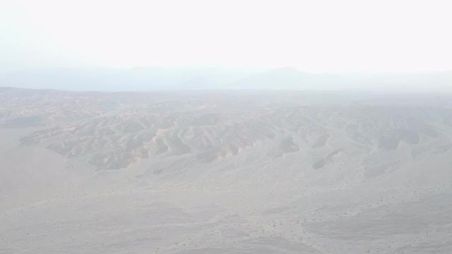 Aerial Shot Of Desert Mountains: Stock Video