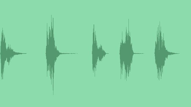 Cartoon Voice Splat Hit Pack: Sound Effects
