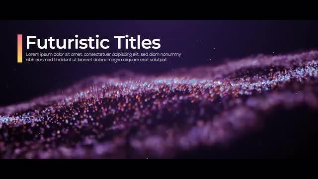 Futuristic Titles: Premiere Pro Templates