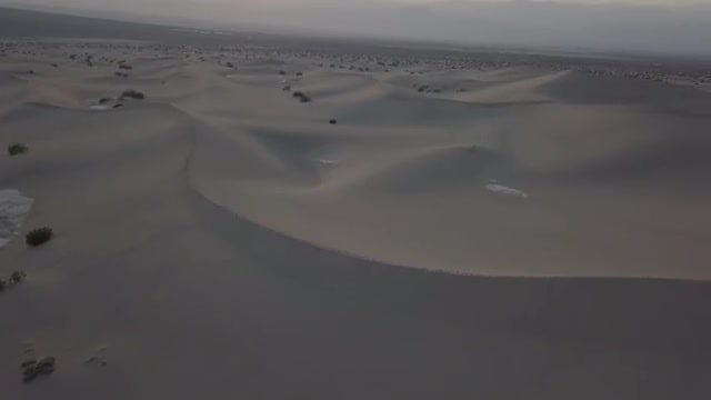 Aerial Shot Of Death Valley: Stock Video