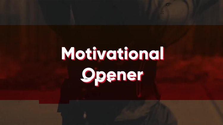 Motivational Opener: Premiere Pro Templates