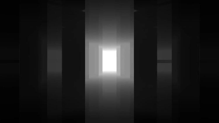 Reflected dark room cycle walkthrough: Stock Motion Graphics