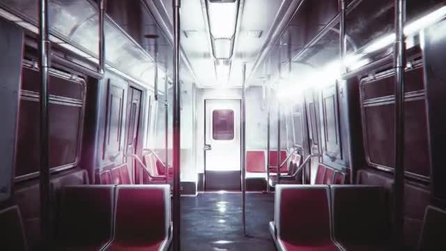 Train: Stock Motion Graphics