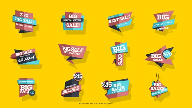 Sales Tag - After Effects 128539