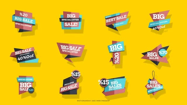 Sales Tag: After Effects Templates