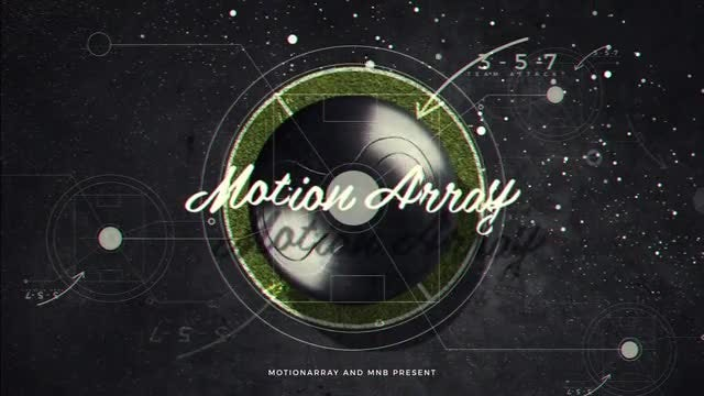Sport Logo Opener: After Effects Templates