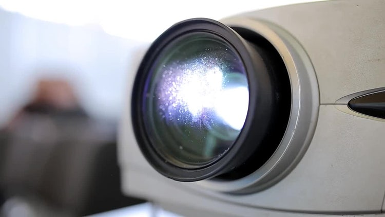 Close-up Shot Of A Projector: Stock Video