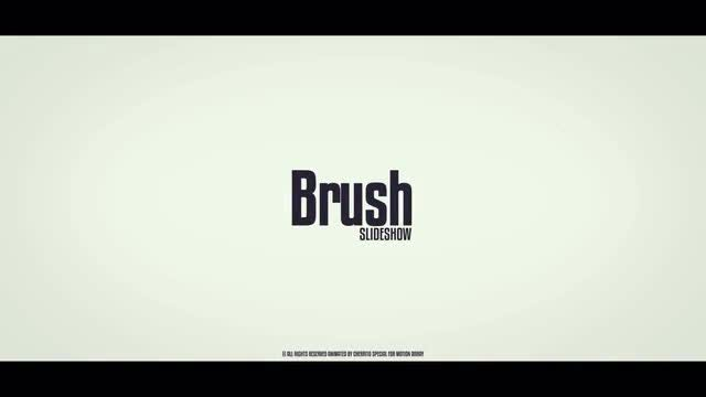 Brush Slideshow: Premiere Pro Templates