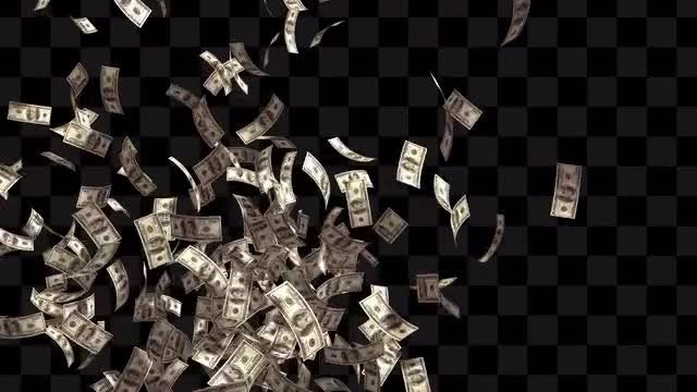 Raining Money Pack: Stock Motion Graphics