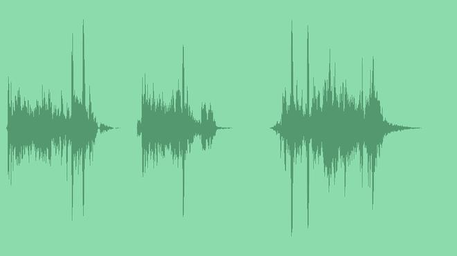 Glitch Logo Transition Intro: Sound Effects