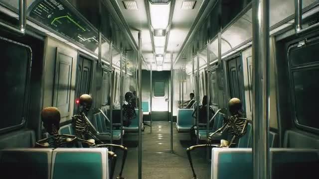 Horror Train: Stock Motion Graphics