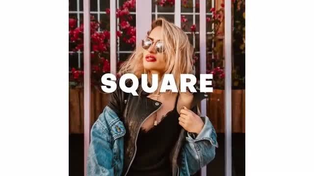 Square Opener: After Effects Templates