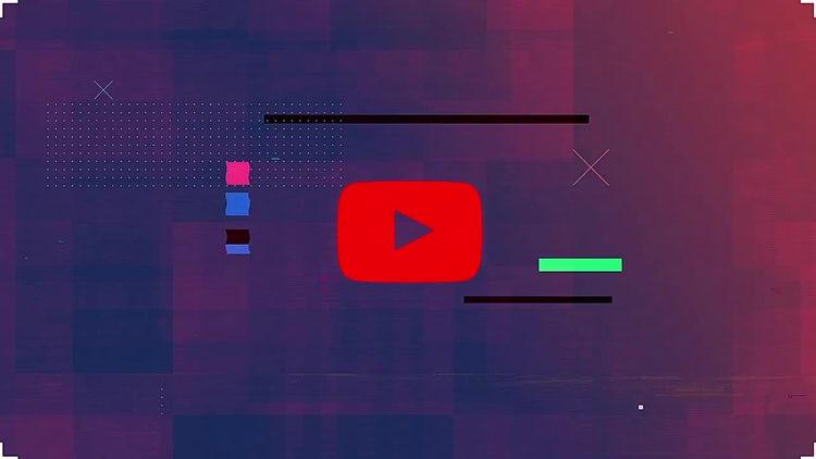 Modern Glitch Logo: After Effects Templates
