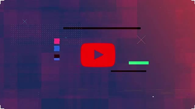 Modern Glitch Logo: After Effects Templates