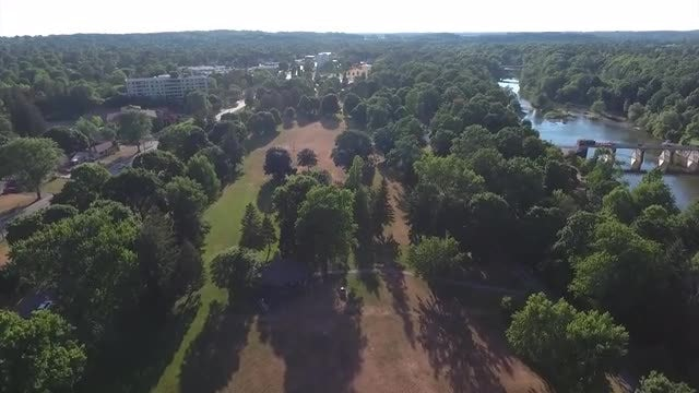 Park Land View: Stock Video